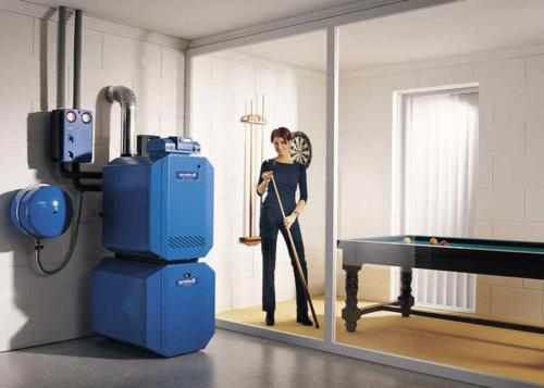 heizung optimieren ordentlich und sauber in dunkelblau