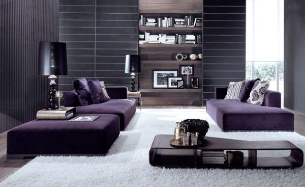 herbstfarben trends minimalistisch in gedeckten farben