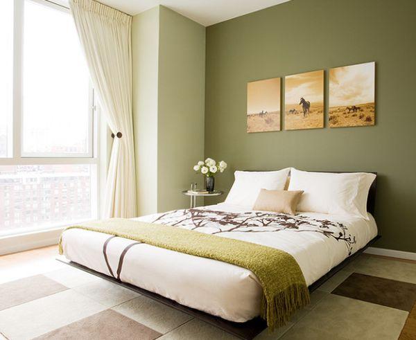 herbstfarben trends naturfarben beige hellbraun und apfelgrün