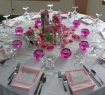 Hochzeitsdekoration Ideen Zauberhafte Tisch Und Hochzeitssaaldeko