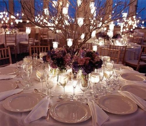 Hochzeitsdekoration Mit Kerzen Tischdeko Kerzen Pictures to pin on ...