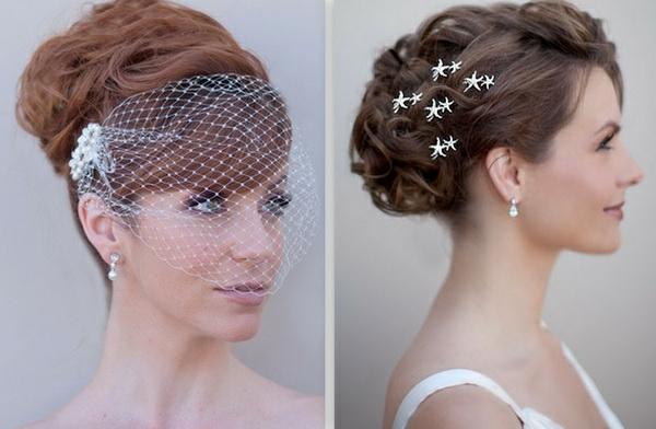 Brautfrisuren hochgesteckt schlicht  Hochzeitsfrisuren zum Nachmachen 33 Haarideen für die moderne Braut
