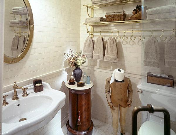 humorvolles innendesign lustiger toilettenpapier ständer