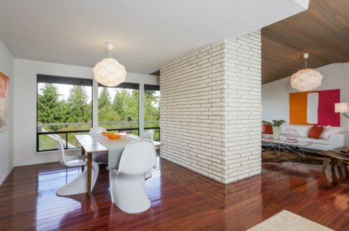 Wohnideen Offene Räume interessante inneneinrichtung ideen setzen sie kontrasteffekte ein