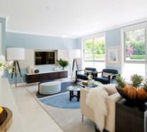 inneneinrichtung ideen graphische muster im wohn und essbereich. Black Bedroom Furniture Sets. Home Design Ideas