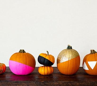 Kürbis Dekoideen – coole Herbstdekoration zum Selbermachen