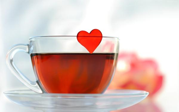 kaffee oder tee trinken tasse