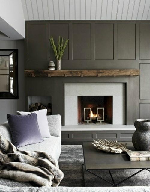 kamin dekoration mit frischen farben aufpeppen. Black Bedroom Furniture Sets. Home Design Ideas