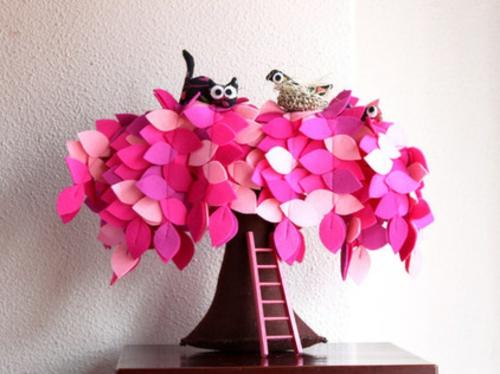 katzen deko - Dekoration Baum