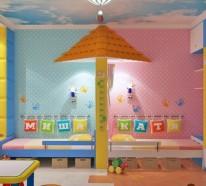 Kinderzimmer. Werbung