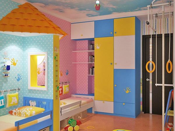 Kinderzimmer Komplett Gestalten - Junge Und Mädchen Teilen Ein Zimmer
