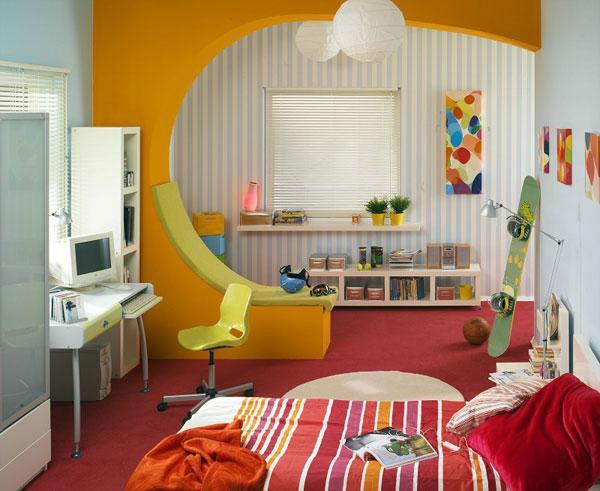 kinderzimmer komplett gestalten - junge und mädchen teilen ein zimmer, Wohnzimmer design