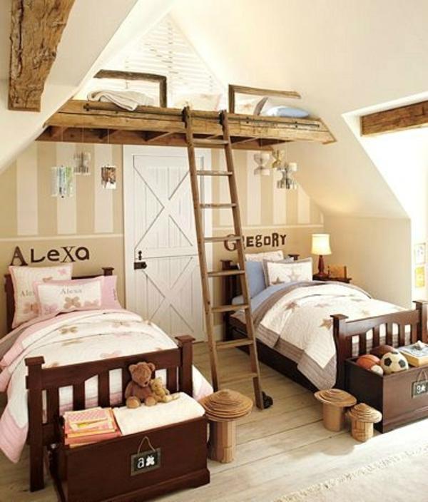 furniture makeover ideas inspired the white attic - Kinderzimmer komplett gestalten Junge und Mädchen teilen