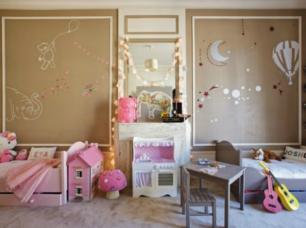 Kinderzimmer Teilen Wand : Kinderzimmer komplett gestalten – wenn Junge und Mädchen einen Raum