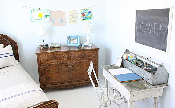 kommode holz klassisch schick vintage holz tisch stuhl