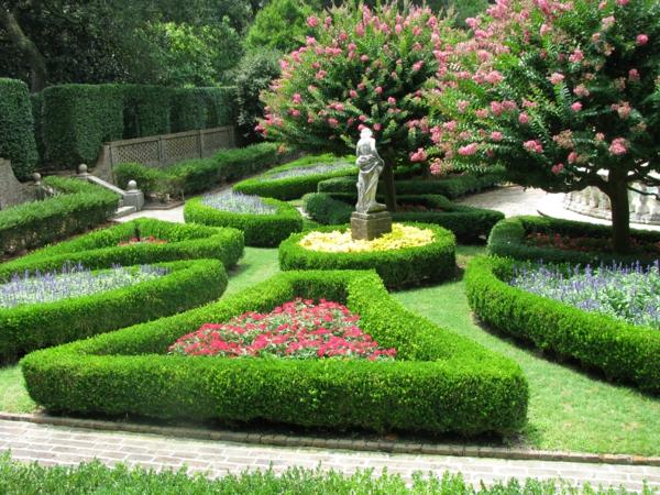 landschafts und gartenbau garten hecken figur kunstwerk