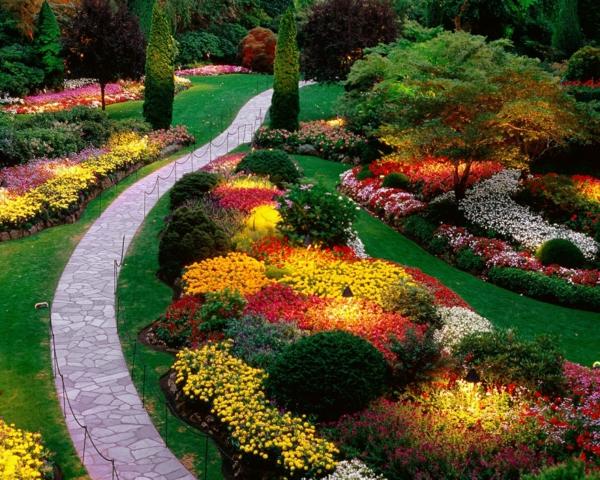 landschafts und gartenbau garten steinweg farben pflanzen