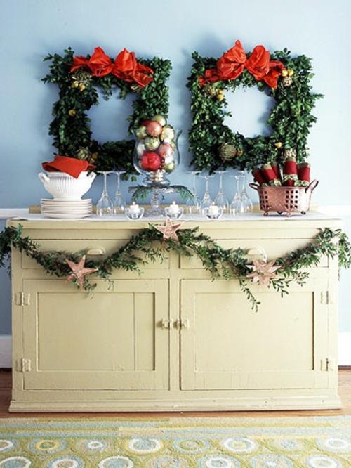 schnelle und leichte wanddekoration zu weihnachten. Black Bedroom Furniture Sets. Home Design Ideas