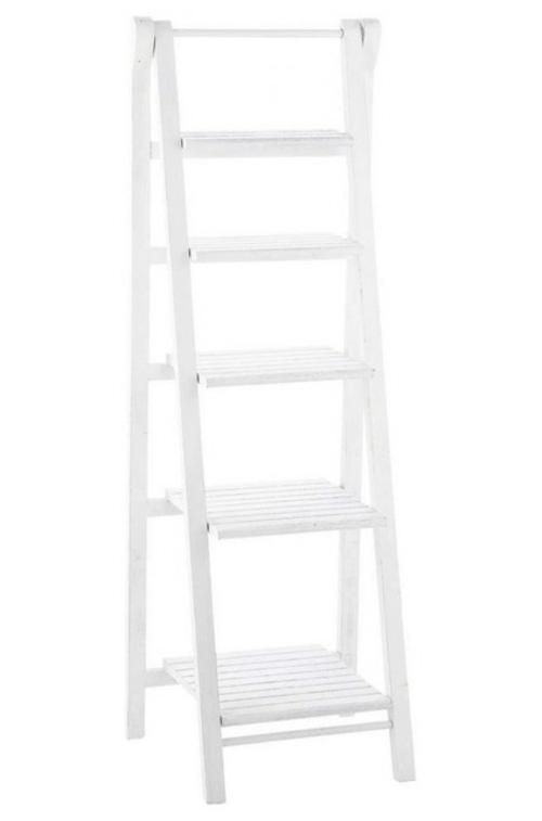 leseecke einrichten weißes treppe regal