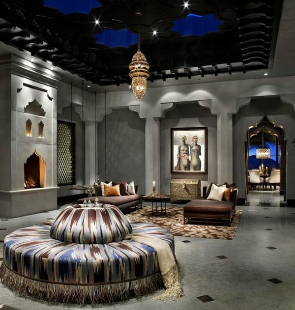 marokkanisches haus bequeme sofas mit kissen