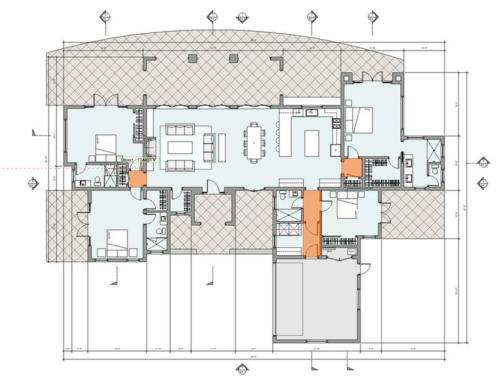 Innenarchitektur skizze wohnzimmer  Moderne Architektur - Brauchen Sie wirklich eine Diele?