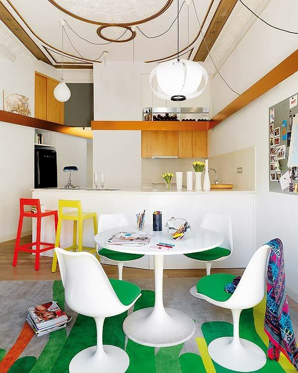 moderne essecken bank staylisch inspiration klein farbig