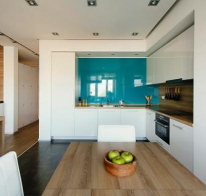 modernes apartment mit minimalistischem innendesign in moskau, Innenarchitektur ideen