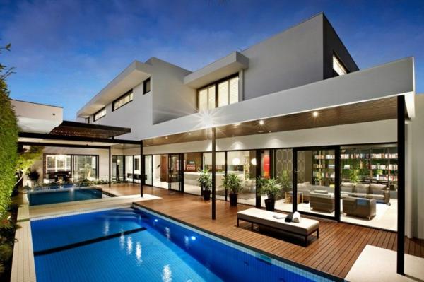 Modernes architektenhaus im herzen von melbourne australien for Architektenhaus modern