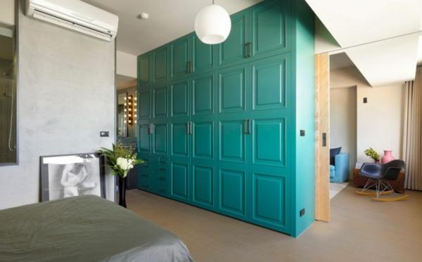 Modernes wohnen minimalistische trendy wohnung in taipei for Roter schaukelstuhl