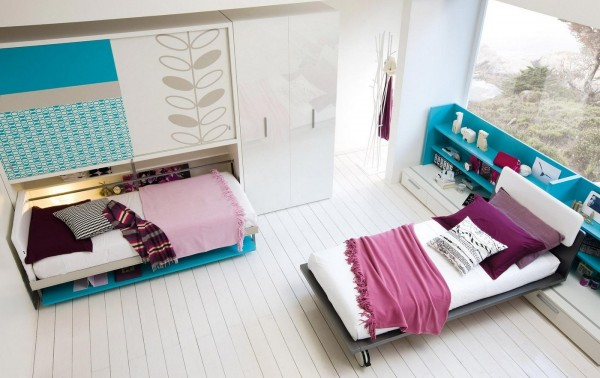 umwandelbare platzsparende m bel f rs kinderzimmer. Black Bedroom Furniture Sets. Home Design Ideas