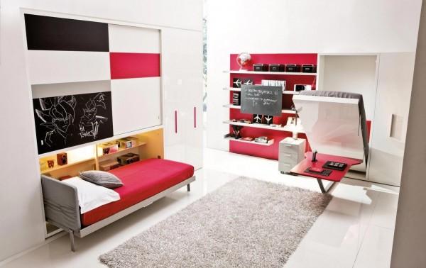 Top Umwandelbare platzsparende Möbel fürs Kinderzimmer YP87