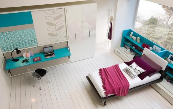 umwandelbare platzsparende m bel f rs kinderzimmer. Black Bedroom Furniture Sets. Home Design Ideas