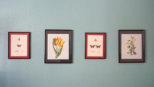 schöne Deko Tricks fürs Innendesign gemälde botanisch kunstwerk