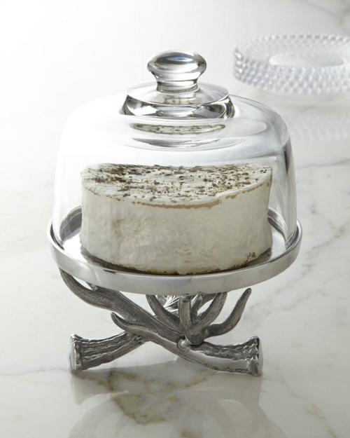 schöne Tortenständer und Kucheplatten Designs kuchen deckel glas