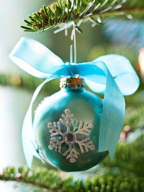 Schicke weihnachtskugeln 20 tolle ideen f r ihren - Christbaumkugeln selber machen ...