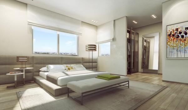 Modernes Zuhause zeigt opulente Wandgestaltung von Ando Studio ...