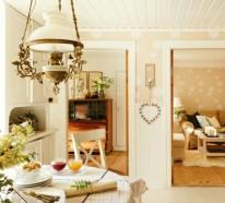 Schwedisches Gartenhaus mit märchenhaftem Interieur zum Wohlfühlen
