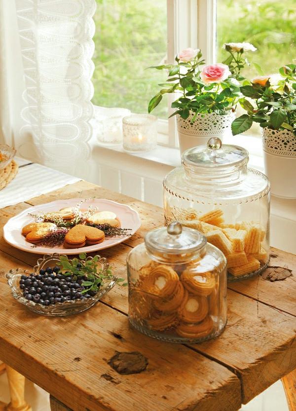 schwedisches gartenhaus keksdosen aus glas
