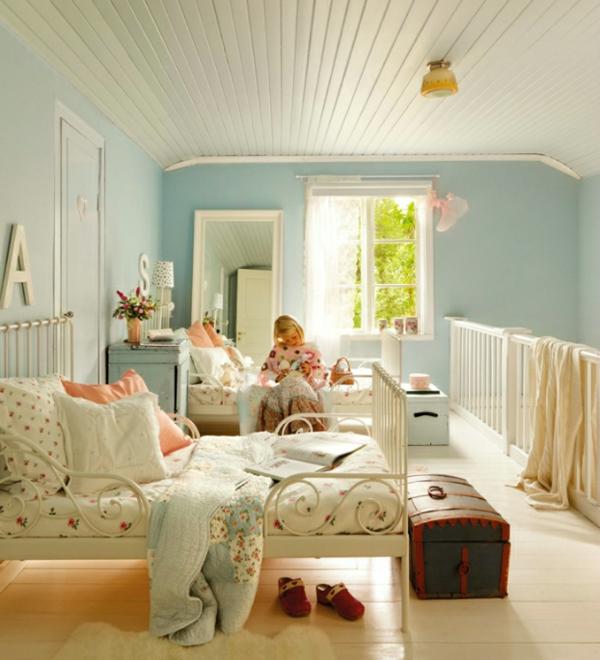 schwedisches gartenhaus kinderbetten in weiß aus schmiedeeisen