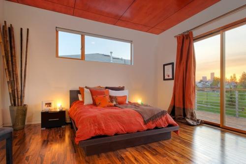 10 sensationelle schlafzimmer in orange tr umen in farbe