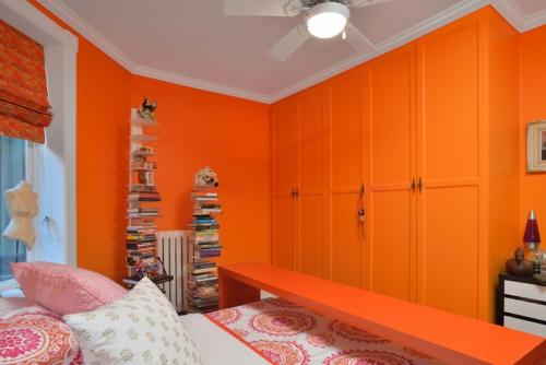 10 Sensationelle Schlafzimmer In Orange - Träumen In Farbe Schlafzimmer Orange