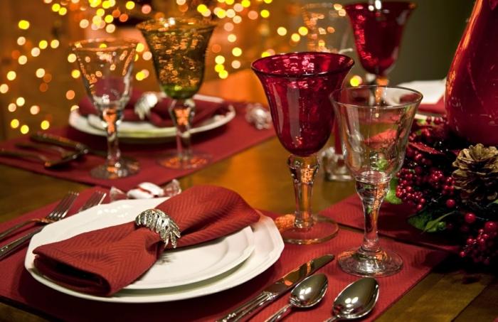dekoideen silvesterparty silvesteer dekoration tischdeko silvester elegant