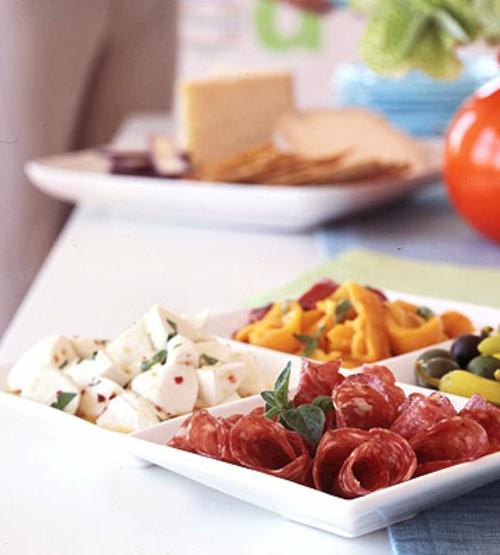 silvester party leckere italienische antipasti
