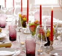 stilvolle dekoideen f r ihren tisch feiern sie elegant zu hause. Black Bedroom Furniture Sets. Home Design Ideas