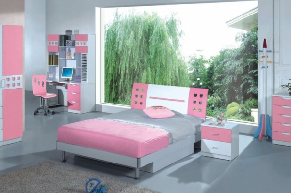teenager zimmer f r m dchen top design ideen f r ihre raumgestaltung. Black Bedroom Furniture Sets. Home Design Ideas