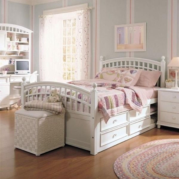 wohnzimmer pastellfarben:Teenager Zimmer für Mädchen – Top Design Ideen für coole  ~ wohnzimmer pastellfarben