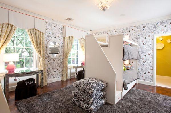 toile de jouy textilien 28 design ideen mit den schicken. Black Bedroom Furniture Sets. Home Design Ideas