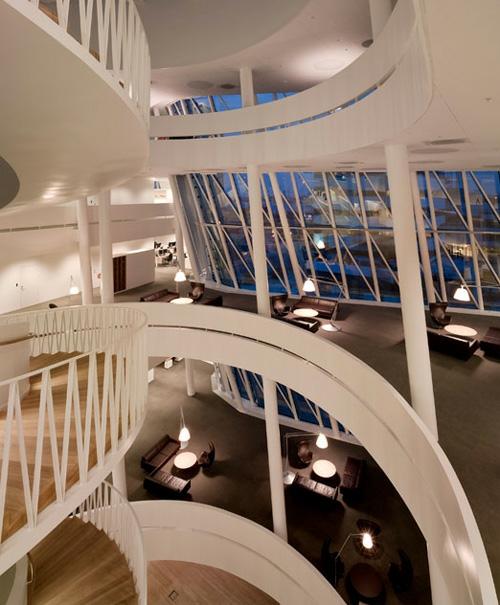 ultramoderne coole Office Designs etage geschäftsgebäude