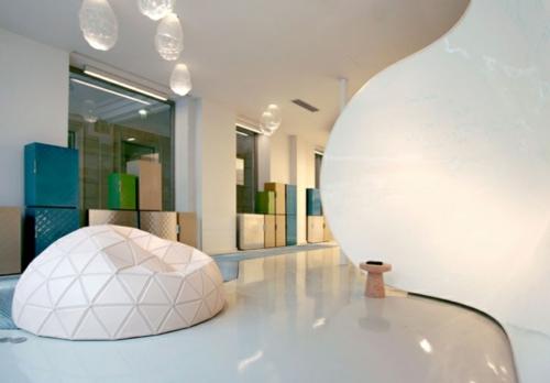 coole Office Designs glanzvoll geometrische formen linien
