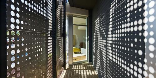 ultramoderne coole Office Designs warm ambiente übergang flur wandgestaltung